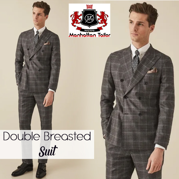double breasted suit, double breasted suit men's, double breasted suit tailored fit